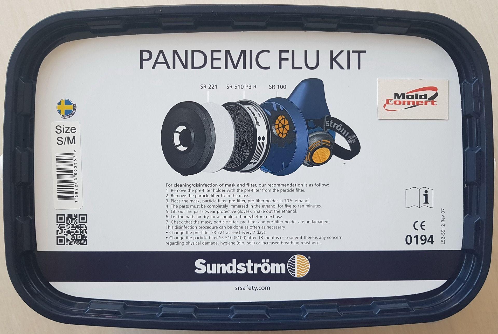 kit pandemic (semi masca, filtru FPP3)